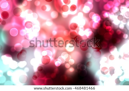 Background with blur bokeh effect