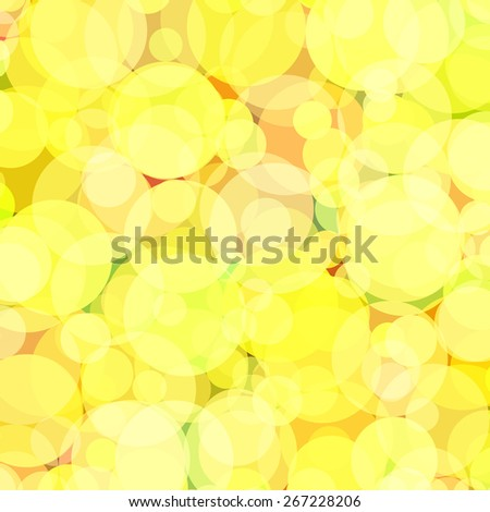 Background with colored circles. Raster 2  - stock photo