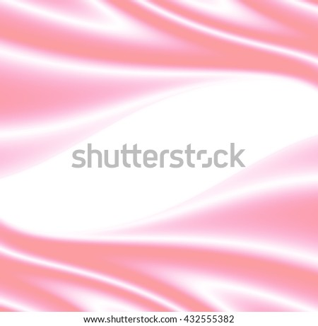 Background with delicate pink silk.  With copy-space. - stock photo