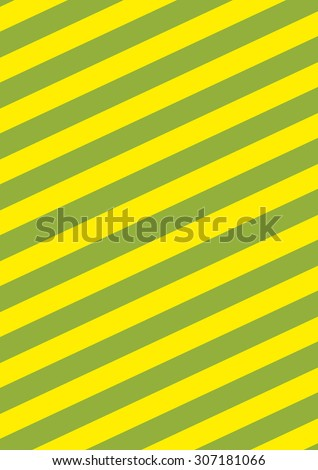 Background with diagonal yellow and green stripes