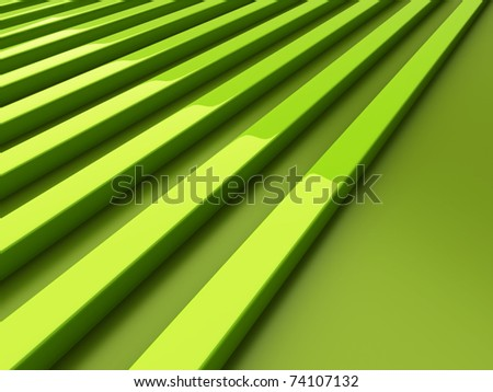 Background with green lines and space for text - stock photo