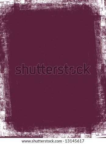 Background with grunge edges