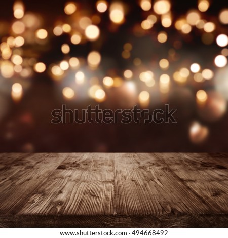 Background with lights for celebratory events