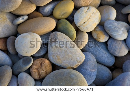 background with round stones pattern