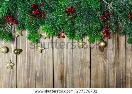 Background, xmas, wood.