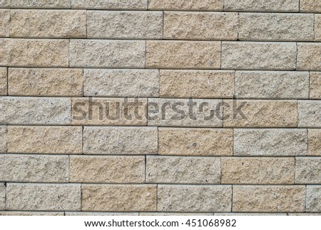 Background yellow brick wall