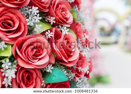 Backgrounds Flower for wedding.