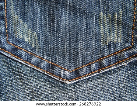 backgrounds jeans modern  - stock photo