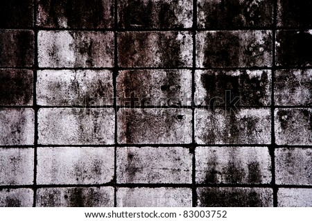 backgrounds of black stone wall