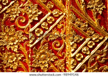 backgrounds of thai pattern