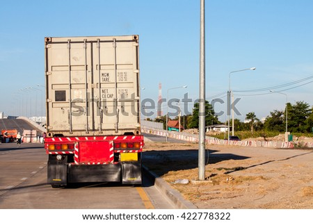 Container Truck Stock Images, Royalty-Free Images ...
