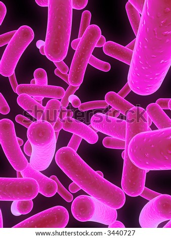 bacteria - stock photo