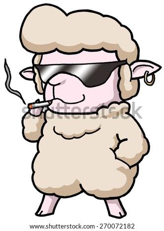 Strong Cartoon Brain Vector Clip Art Stock Vector 153891284 ...
