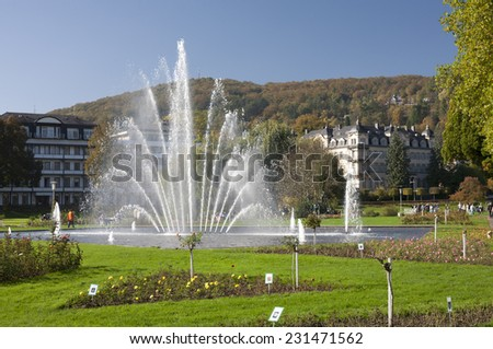 Bad Kissingen - stock photo