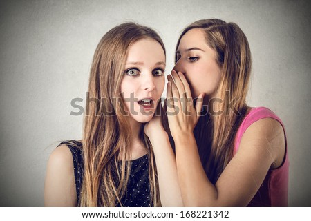 Bad Secrets - stock photo