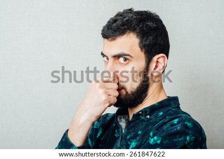 Bad smells - stock photo