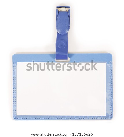 badge isolated on white - stock photo
