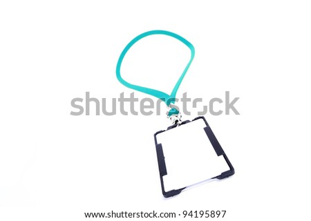 badge on a white background
