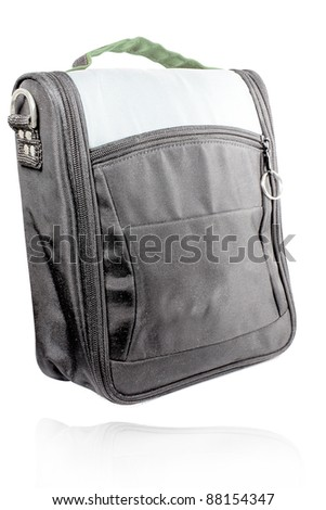 bag for the camera isolated