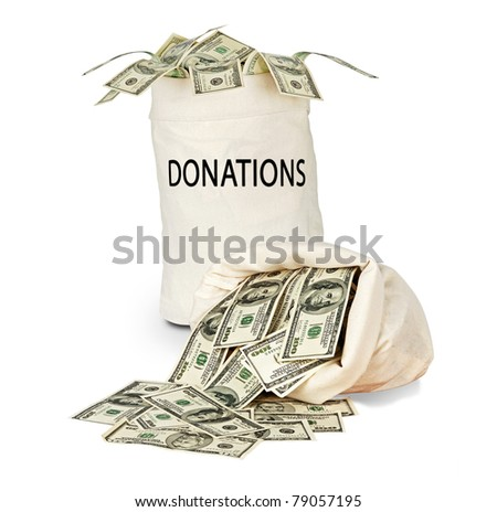 bag of donations