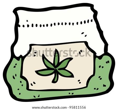 Stock Images similar to ID 89072587 - pink rabbit smoking weed cartoon