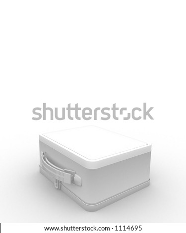 bags packed ready for your message - stock photo