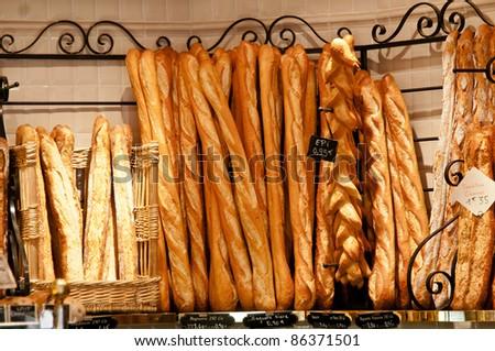 Baguette - stock photo