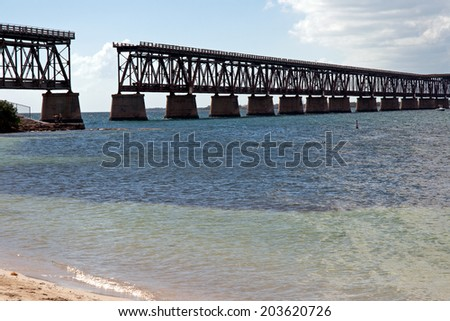 Bahia Honda Bridge, Florida, USA
