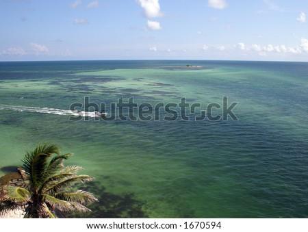 Bahia Honda Island - stock photo