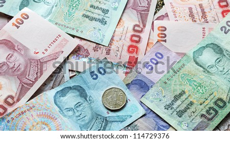 Baht is the currency of Thailand