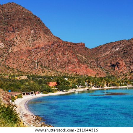 Baja California landscapes - stock photo