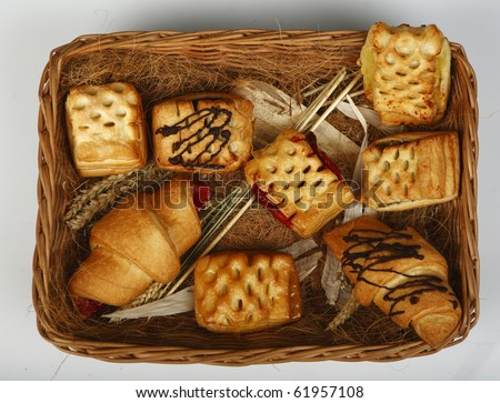 bakery products - stock photo