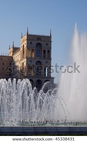 Baku municipality building - stock photo
