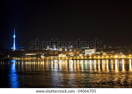 Baku view - stock photo