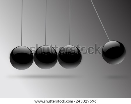 Balance of Balls concept - stock photo