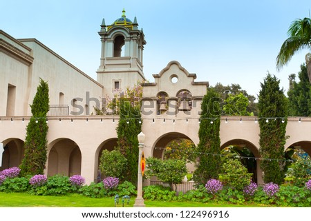 Balboa Park in San Diego, California, USA - stock photo