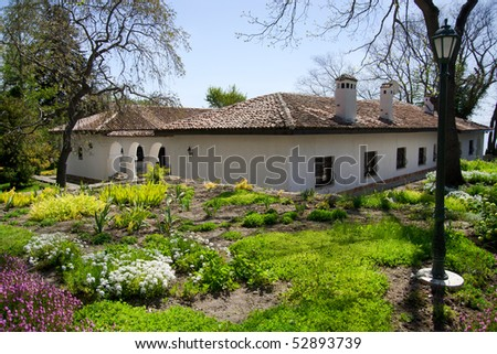 Balchik Beautiful Garden - stock photo