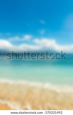 Bali Indonesia Travel theme blur background