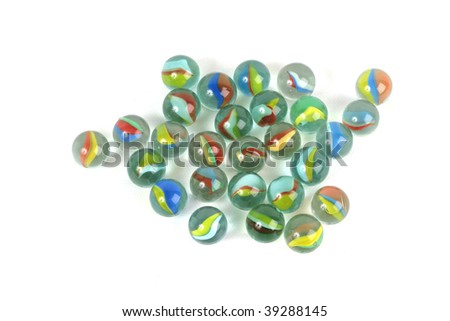 ball background - stock photo