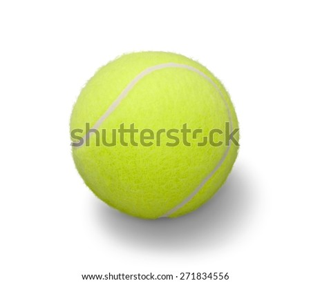 Ball, closeup, isolated.
