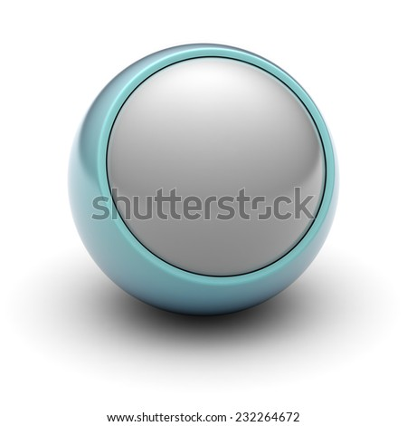 Ball for button - stock photo