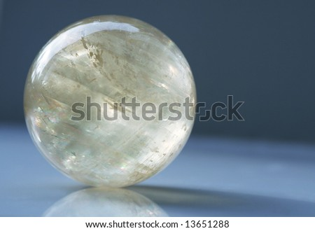 Ball for mineral