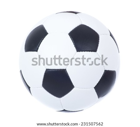 ball on soccer - stock photo