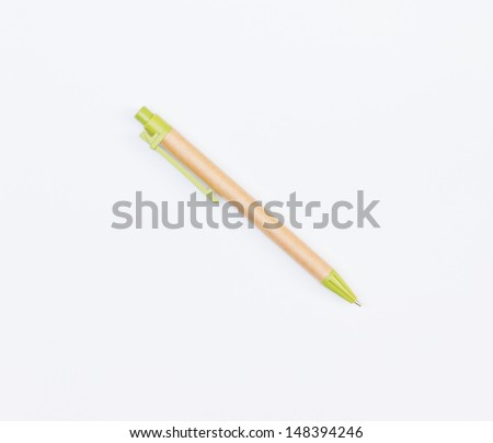 ball point pen isolated on white background