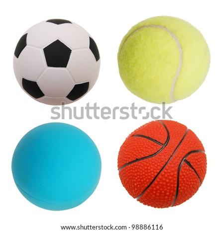 Ball sport games - stock photo