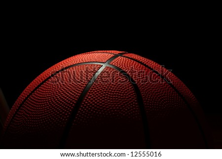 ball to the basketbal - stock photo
