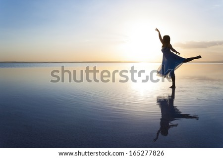 Ballet Dream - stock photo