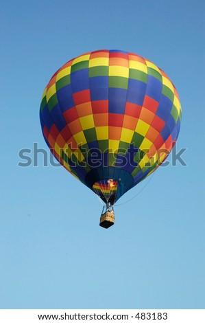 balloon one - stock photo