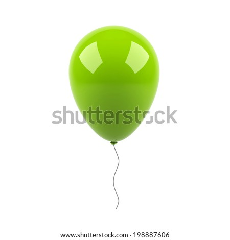 balloon party - stock photo