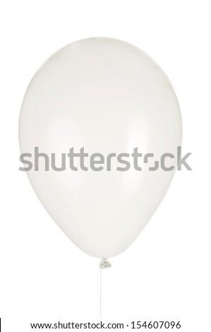 balloon, photo on the white background  - stock photo